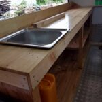 custom made Pallet wood sink