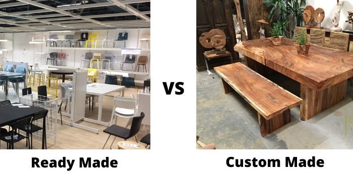 ready made vs custom made furniture