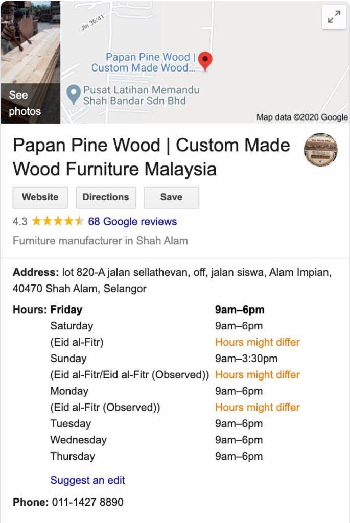custom made wood furniture near me