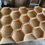 Plywood art for bird