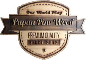 papan pine wood logo jpg