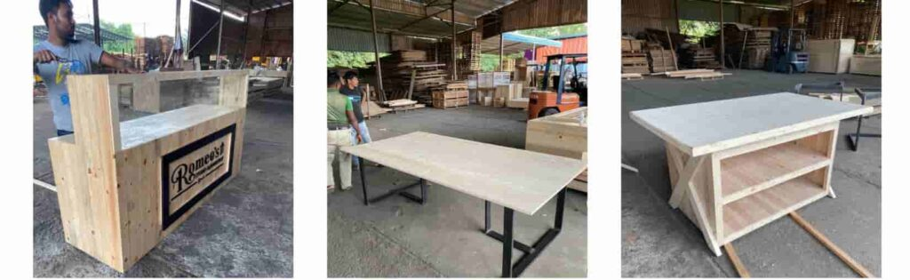 Pine wood for furniture combine 1