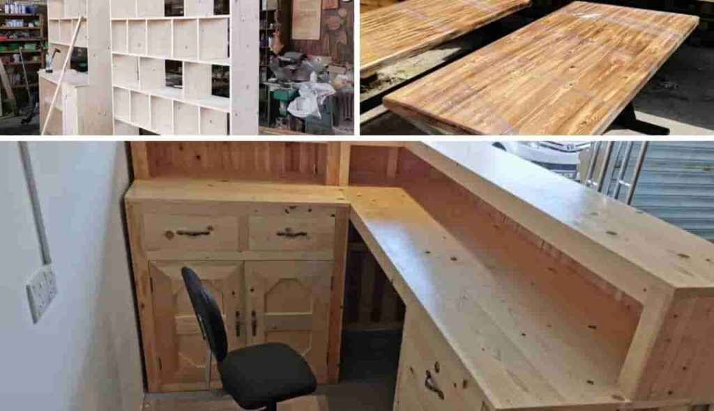 Pine wood for furniture combined (1)